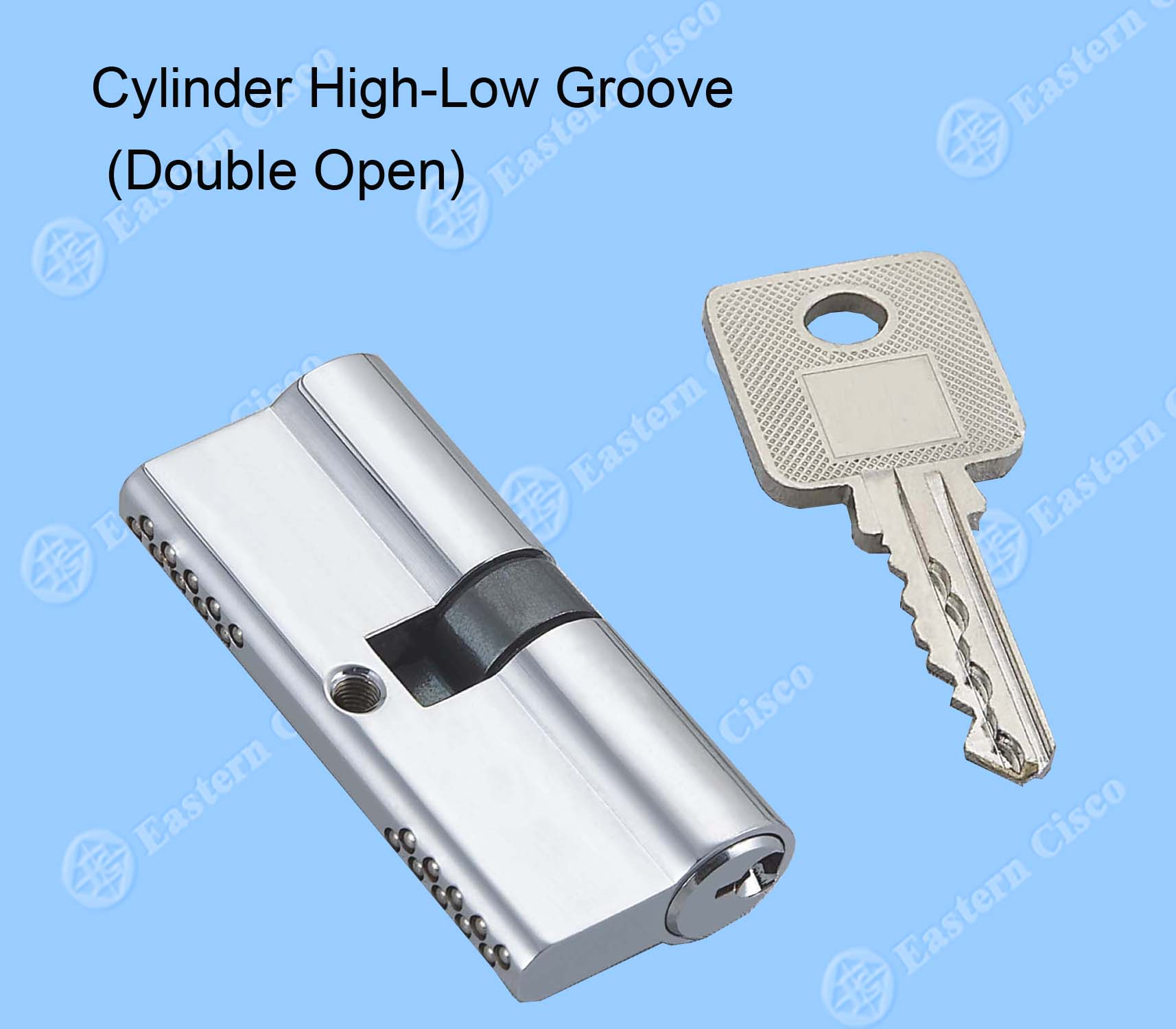 Cylinder High-Low Groove