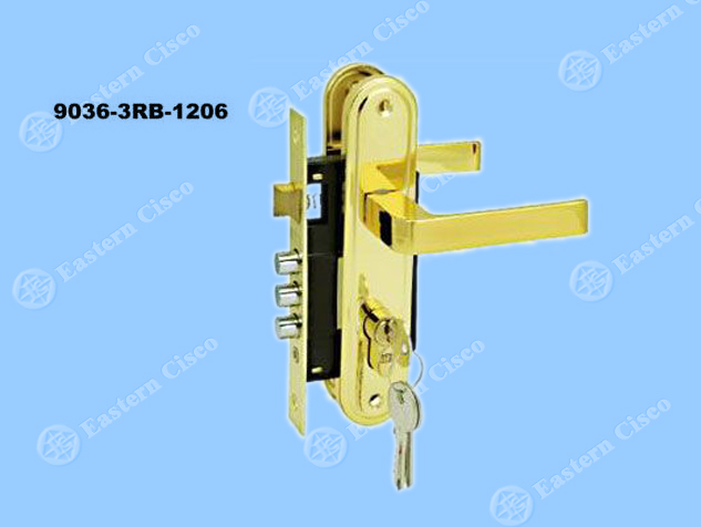 Motise Lock 9036-3RB-1206